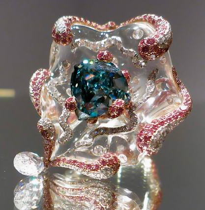 The Ocean Dream Diamond At Auction
