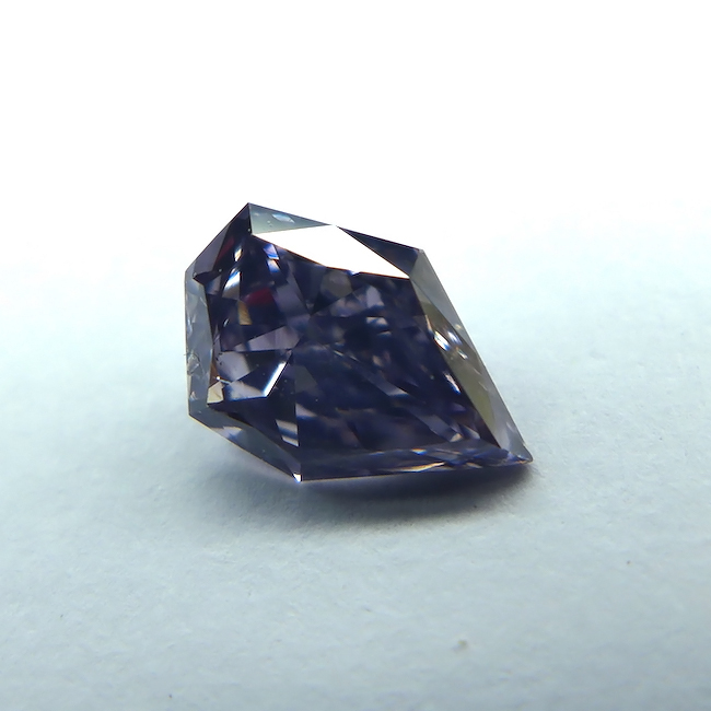 .39 carat SI2 GIA Certified fancy grayish violet natural colored diamond for sale-wholesale diamonds for sale