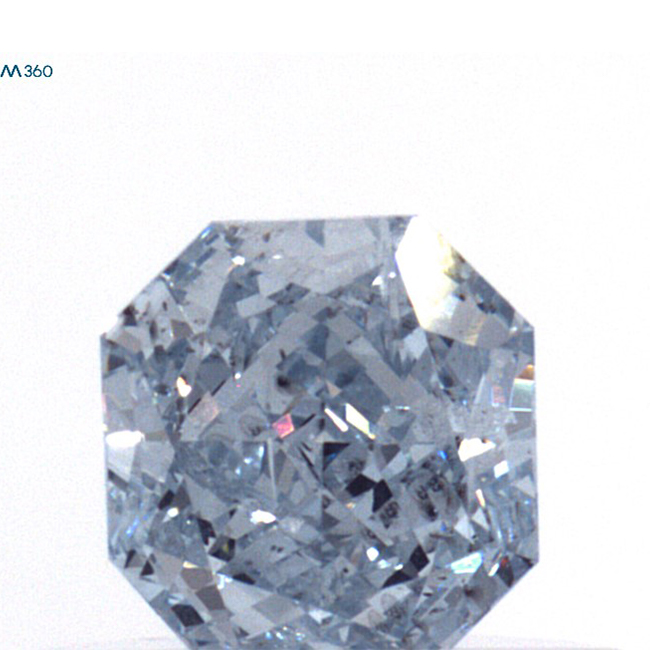 .38CT gia certified I1 fancy  blue loose fancy colored diamonds for sale - natural colored diamond for sale