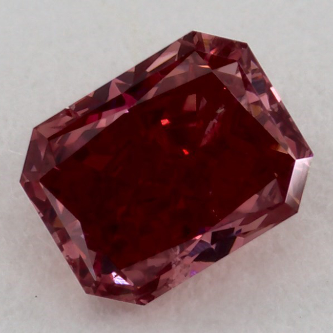 .31 carat I1 GIA Certified fancy Red natural colored diamond for sale-diamond-wholesale-online
