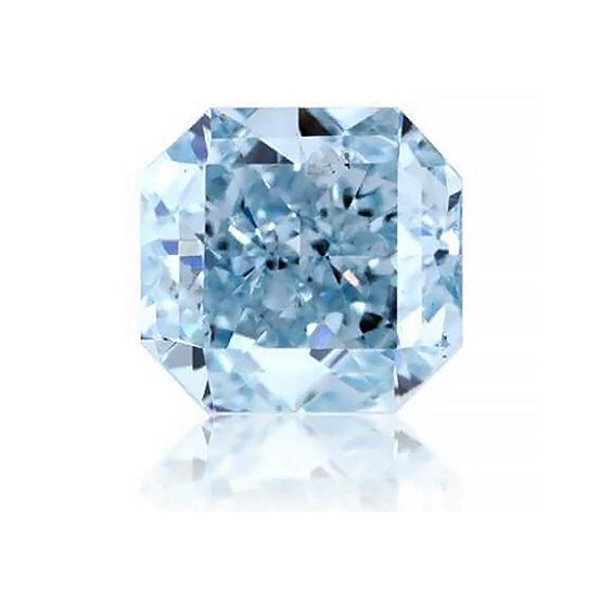 .75 carat SI2 GIA Certified fancy Intense Greenish Blue natural colored diamond for sale-gia-diamond-search