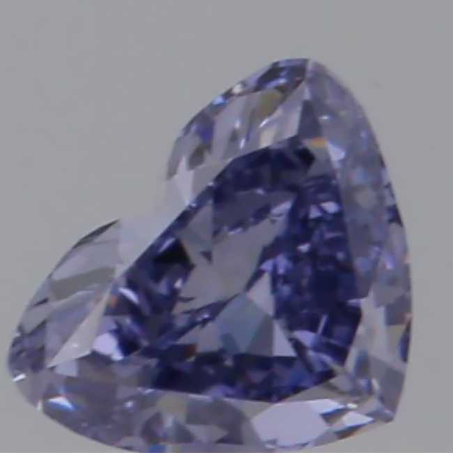 .39 carat SI2 GIA Certified fancy grayish violet natural colored diamond for sale