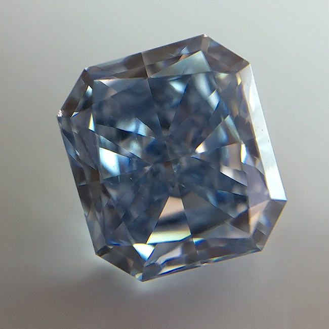 .28 carat VS1 GIA Certified fancy intense blue natural colored diamond for sale