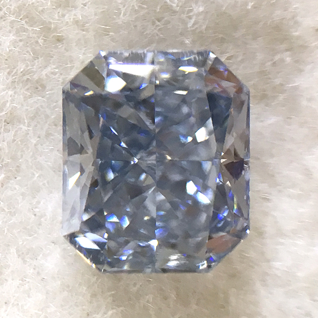 .45CT gia certified VS2 fancy intense blue loose fancy colored diamonds for sale - natural colored diamond for sale