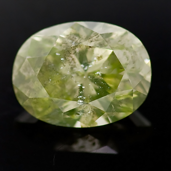1.26CT Fancy Yellow Green Colored Diamond Natural GIA certfied -wholesale-loose-diamonds