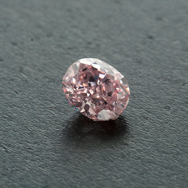 .80 carat VS1 GIA Certified fancy Intense Pink natural colored diamond for sale