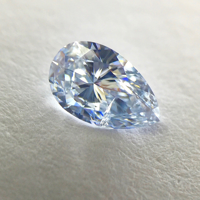 .33CT gia certified SI2 fancy light blue loose fancy colored diamonds for sale - natural colored diamond for sale